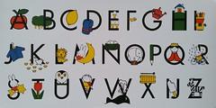 alphabet Dick Bruna (DymphieH) Tags: postcards received alphabet