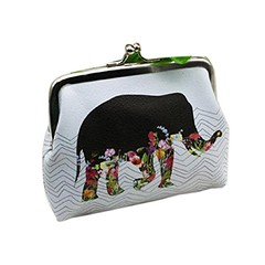 Mikey Store Womens Elephant Wallet Card Holder Coin Purse Clutch Handbag (couponrainbow) Tags: card clutch coin elephant handbag holder mikey purse store wallet womens