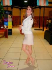 White Jacket Jess (jessicajane9) Tags: tv cd tgirl tg lgbt m2f trans crossdressing boy2girl transvestite feminized