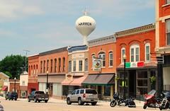 Warren, Illinois (Cragin Spring) Tags: warren warrenil warrenillinois building architecture watertower illinois il mainstreet smalltown northernillinois midwest unitedstates usa unitedstatesofamerica