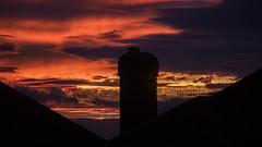 Sherwood evening clouds 04 (bob watt) Tags: canon canoneos7d 7d 18135mm sunset august 2016 clouds sky