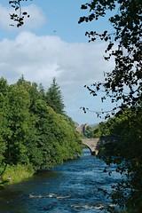 River Teath at Deanston (alanGmedia) Tags: scotland river landscape scenery history doune deanston montypython grail
