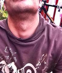 (DiegomxApple) Tags: man doublechin beard neck adamsapple