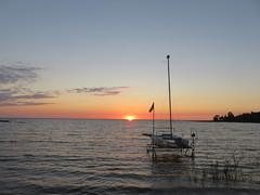 Sundown on Miramichi Bay (Sean_Marshall) Tags: saugeenshores miramichibay portelgin lakehuron sunset sundown