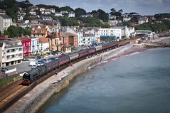The Royal Duchy. (f22photographie) Tags: steamtrains 46233 46233duchessofsutherland gwrmainline steamspecials charteredtrains dawlish theroyalduchy ukmainlinesteamrailtour leicase leica100mmsummicrons