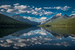 Clouds over Bowman Lake, Glacier National Park, Montana (diana_robinson) Tags: clouds bowmanlake glaciernationalpark montana lake isolated serene mountains abigfave