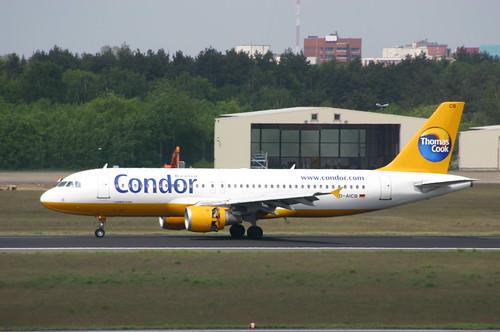 Condor Airbus A320 D-AICB @TXL/EDDT airport