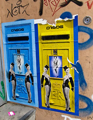 StreetArt Hamburg (Jotpeh Vock) Tags: streetart art marilyn mailbox photography marilynmonroe hamburg monroe colored mm farbig briefkasten