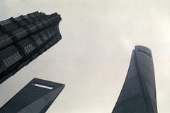 SNY200_024-SRGB.SMALL (Lιηυѕ) Tags: shanghai 上海 pentaxmesuper jinmaotower 金茂大厦 shanghaitower 上海环球金融中心 shanghaiworldfinancecenter sunny200 asahismcpentaxm11750mm 上海中心大厦