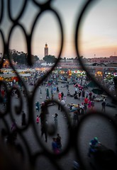 Marrakesh Love - Jemaa el Fna (JoeyHelms Photography •2.5MViews&10kFollowers•) Tags: africa street sunset people photoshop canon shopping photography market north morocco arab 7d marrakech medina marrakesh arabian lightroom joeyhelms joeyhelmsphotography