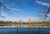 The Resevoir (SamuelWalters74) Tags: newyorkcity flowers trees newyork unitedstates centralpark manhattan eldorado upperwestside floweringtrees jacquelinekennedyonassisreservoir centralparkinspring