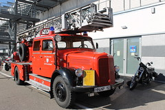 Mercedes Feuerwehr DL 25 (1959) (Mc Steff) Tags: truck fire mercedes engine 25 feuerwehr dl 1959 lkw 2014 breuningerland