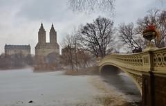 Central Park-The Lake, 03.14.15 (gigi_nyc) Tags: nyc newyorkcity winter fog frozen centralpark thelake