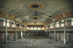 Magic Ballroom (klickertrigger) Tags: panorama history abandoned architecture decay urbanexploration ballroom dust lostplace stefandietze