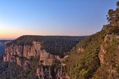 GOVETTS LEAP SUNRISE (16th man) Tags: sunrise canon eos blackheath sydney australia bluemountains nsw govettsleap eos5dmkiii