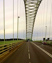 On Runcorn bridge (madmax557) Tags: uk greatbritain bridge england runcornbridge