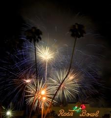 rose bowl fireworks (Karol Franks) Tags: birthday usa holiday america fireworks stadium 4th july rosebowl independenceday celebrate