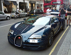 Bugatti Veyron Super Sport Blue Carbon (p3cks57) Tags: bugatti veyron super sport blue carbon london f1 most expensive licence plate sloane st knightbridge hypercars supercars worldcars cars car