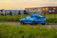 Brian Ford Puma VCT (SpookPictures) Tags: sky blue puma ford vct 17 zetec 15 inch borbet volvo ral diy paint