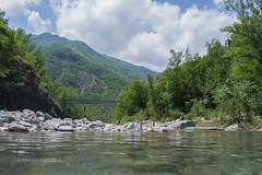 Trebbia 1 (kamalgulzar) Tags: trebbia fiume river water swimming pool clean transparent reflection sky outdoor panorama