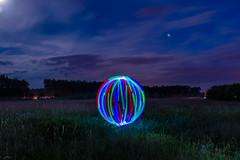 Lichtkugel (ingo.erich) Tags: lightpainting nacht orb lichtmalerei nachts lightart langzeitbelichtung nikond3200 lapp lichtkunst michendorf lichtkuns