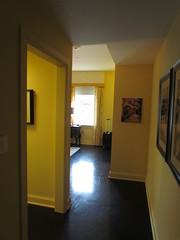 The Entrance to My Suite at the Mayton Inn -- Cary, NC, July 3, 2016 (baseballoogie) Tags: maytoninn nc northcarolina hotel room hotelroom 070316 baseball16 canonpowershotsx30is cary