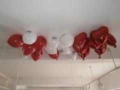 Kunst oder Ballons 5 (Thorte Berlin) Tags: red white berlin rot art germany balloons deutschland kunst ballon balloon helium strippen weis ballongas kunstoderballons strippenwald
