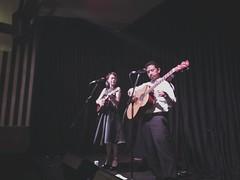Polkadot + Moonbeam @ The Laneway Lounge (peachysounds) Tags: music ukulele live duo lounge jazz perth acoustic laneway jazzduo polkadotmoonbeam