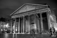The Pantheon || Rome, Italy (anoopbrar) Tags: italy italia buildings ancient history sunset sunrise town picturesque twilight city explore artistic art hillside hills landscape blue hour building landscapephotography nature outdoor night long exposure longexposure dusk citylights architecture urban travel sky sunlight travelphotography cities pantheon monochrome blackwhite