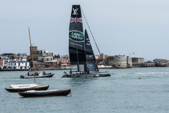 Ben Ainslie's British team Land Rover BAR (Steeler Nation UK) Tags: ainslies ben rover land bar cup americas port sally portsmouth ainsley southsea qualifier