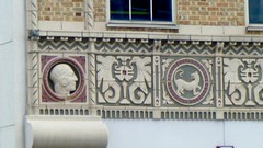 P1080679 (chemtrailchaser) Tags: daytonohio weird bizarre satanic freemasons evil architecture stone brick building