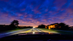 Into The Storm (Sharky.pics) Tags: colorful sunset driving street car mustang july wisconsin 2016 waukesha sky clouds unitedstates us
