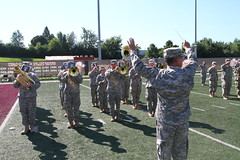 149th Change of Command and Responsibility Ceremony (Kentuckyguard) Tags: roykiddstadium easternkentuckyuniversity 149thmeb 149th maneuver enhancement brigadealexander c stewartcol stewartjerry l morrisoncol morrisonmarshall p warejesse s witherscsm warecsm withers