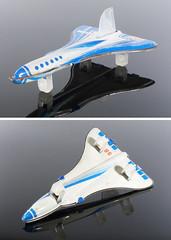 Tinplate Concordski (adrianz toyz) Tags: tinplate toy model tupolev 144 supersonic airliner ussr cccp russia aeroflot tu144