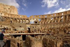 The Colosseum in Roma - Italia. (hanna_astephan) Tags: roma rome romans italia italy travel history heritage architecture tourism cloudysky colosseum
