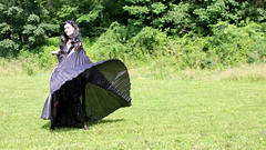 IMG_1830p (ScarletPeaches) Tags: fairy pixiefaerie fae isiswings fantasy outdoors bethw goth blackdress