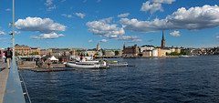 Stockholm in the summer - Explored (Poupetta) Tags: panorama stockholm