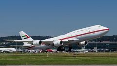 Abu Dhabi Amiri Flight | Boeing 747-8Z5(BBJ) | A6-PFA (NilsT.) Tags: airport flight jet business boeing zrich abu dhabi amiri b747 kloten zrh bbj lszh b7478 a6pfa