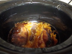 Pork Ribs In The Slow Cooker. (dccradio) Tags: lumberton nc northcarolina robesoncounty food eat meal supper boneless porkribs bbq barbecue barbque slowcooker crockpot cooking meat