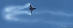 French Air Force Rafale C (DrAnthony88) Tags: armeedelair bluesky capitainemartymartinez frenchairforce modernmilitary nikkor200400f4gvrii nikond810 raffairford rafalec smoketrail aircraft airplane