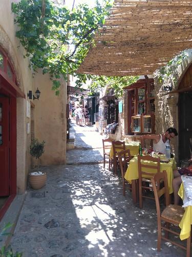 Monenvasia, dans un pied du Peloponnese. Une super découverte