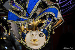 (atrialbyfire) Tags: maschere masks masquerade venezia carnevale red blue primopiano naples napoli italy centro storico churches napoletano arte art italiano centrostorico piazzadelges viatribunali