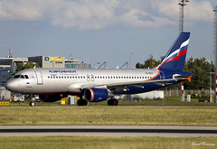 Aeroflot A320-200 VQ-BEH (birrlad) Tags: prague prg international airport czech republic aircraft aviation airplane airplanes airliner airlines airline airways taxi taxiway takeoff departing departure runway airbus a320 a320200 a320214 vqbeh aeroflot russia moscow