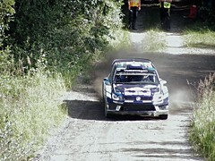 Ogier / Ingrassia - VW Polo WRC - SS5 - Surkee 1 - Rally Finland 2016 (74Mex) Tags: ss3 surkee 1 rally finland 2016 ogier ingrassia vw polo wrc ss5