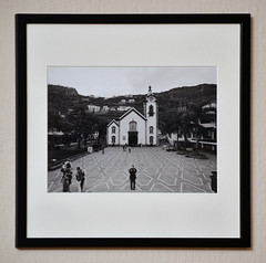 Ribeira Brava, Church of St. Benedict (p2-r2) Tags: nikon fa film printed mounted darkroom blackandwhite