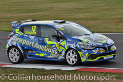 Clio Cup - Q (6) Rory Collingbourne (Collierhousehold_Motorsport) Tags: cliocup renault clio renaultclio toca snetterton wdemotorsport pyro cooksport teambmr