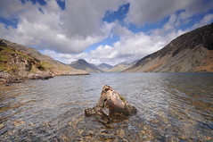 A view of the lakes... (Semi-detached) Tags: wast water lake district national park cumbria landscape loch slope hills hill clouds uk united kingdom wideangle nikon