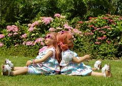 Mittagspause im Park ... (Kindergartenkinder) Tags: dolls himstedt annette kindergartenkinder essen park gruga garten kind personen milina sanrike