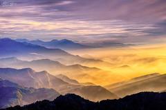 (M.K. Design) Tags: 2016 mkdesign taiwan nantou renai hehuanshan mthehuan sunset glow mountains fog haven nature landscapes skyscapes scenery hdr tarokogorgenationalpark wuling mainpeak nikon d800e sigma 85mmf14 bokeh amazing travel life                     mk