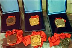 """Medals & Sorrow"" - Sarajevo, Bosnia and Herzegovina (TravelsWithDan) Tags: sarajevo bosniaandherzegovina olympics 1984winterolympics olympicmedals goldsilverbronze"